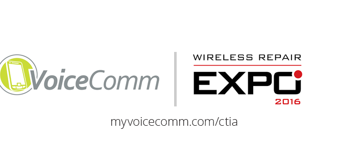 VoiceComm will be at Wireless Repair Expo